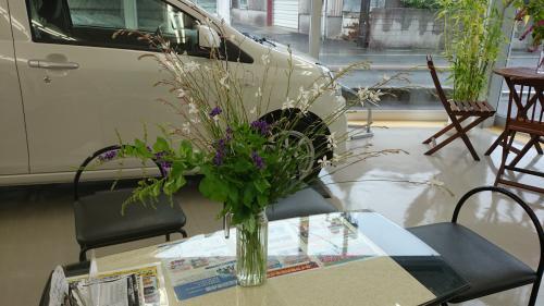 お花、ありがとうございます。